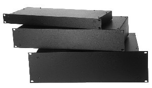 19 Inch Kast : Perel plastic behuizingen voor montage in inch rack u