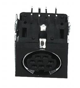 Mini Din Plug 6-polig Chassis