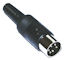DIN Plug - 5p Male 240�