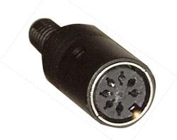 DIN Plug - 7p Female