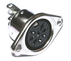 DIN Plug - 8p Chassis