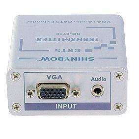 VGA over UTP  (dubbele zender)