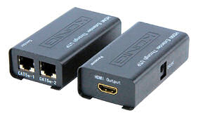 HDMI over Netwerkkabel