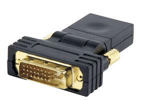 Draaibaar DVI - HDMI verloopje