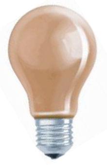 Gekleurde Gloeilamp - Oranje