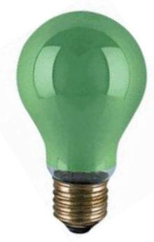 Gekleurde Gloeilamp - Groen