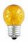 Gekleurde Kogellamp - Geel