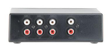 3-Weg Audio Schakelaar