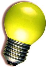 LED Kogellamp - E27 - Geel