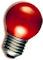 LED Kogellamp - E27 - Rood