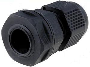 Doorvoertule 3 tot 6,5mm zwart