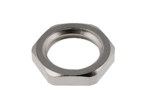 Platte Metalen Moer - M12x1,5