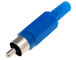 Tulp Plug Male - Blauw