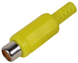Tulp Plug Female - Geel
