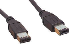 FireWire Kabel - 6 polig