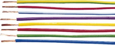 1m Zwarte Kabel 1,5mm2