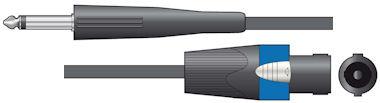 LS Kabel Jack - Speaker 3,0m