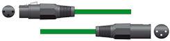 XLR Microfoonkabel 6,0m Groen