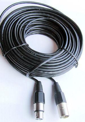XLR Speaker / DMX Kabel 20m