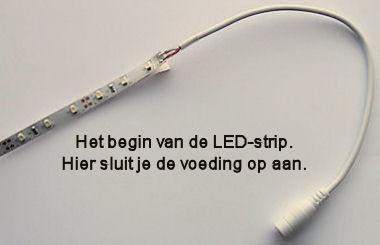 5 meter LED-strip - Warm Wit