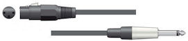 Microfoonkabel - Zwart - 3,0m