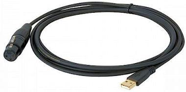 XLR  - USB Kabel