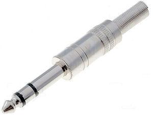 Jackplug  6,3mm