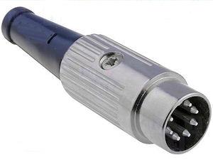 DIN Plug - 7p Male