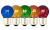 5 stuks Gekleurde Kogellampen