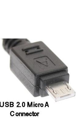 USB-A <> USB Micro A kabel 2m