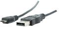 USB-A <> USB Micro-B kabel 0,5