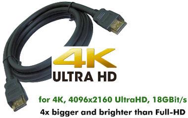 HDMI-2.0 Kabel -0,7m