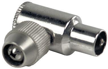 Coax plug male professioneel