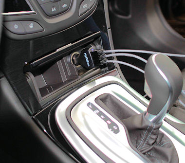 HyCell 3-port USB Car-Charger