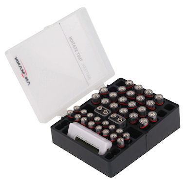 Bewaarbox voor 48 batterijen