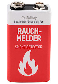 Alkaline Rookmelder Batterij