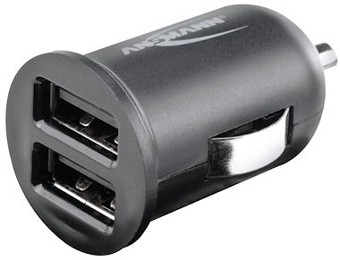 Ansmann In-Car Charger 224