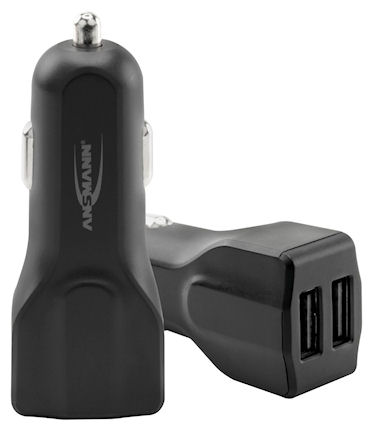 Ansmann In-Car Charger 248