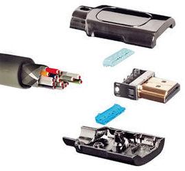 HDMI stekker Zonder Solderen