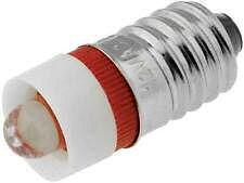 Rode LED met E10 Fitting