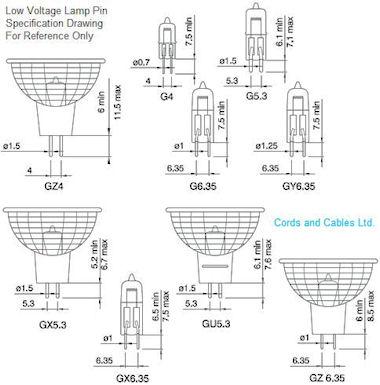 Halogeenfitting G4-G5.3-G6.35