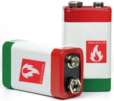 Speciale Rookmelder Batterij