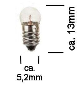 Modelbouw Lampje 3,5V Wit
