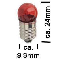 Rood Lampje 3,5V