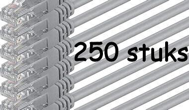 250 Patchkabels van 100cm