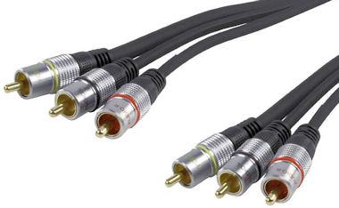 Professionele Tulp kabel 2,5m